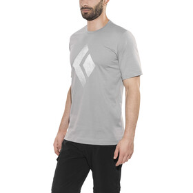 Black Diamond Chalked Up t-shirt Heren grijs